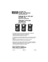 ALTAIR® Pro Single Gas Detector - Sitebox Ltd