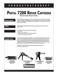 PROTAL 7200 REPAIR CARTRIDGE