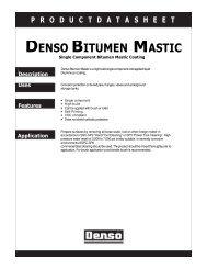 DENSO BITUMEN MASTIC