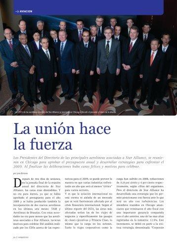 La unión hace la fuerza - Revista Competencia
