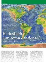 El deshielo: Â¿un tema candente? - Revista Competencia