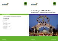Veranstaltungs- und Eventtechnik - bei der Akademie der OETHG