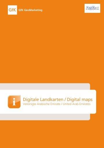 Digitale Landkarten / Digital m aps