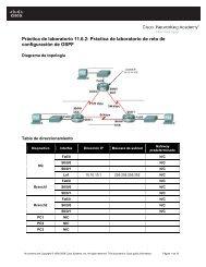 configuración de OSPF