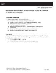 Práctica de laboratorio 8.4.1: Investigación del proceso de ...