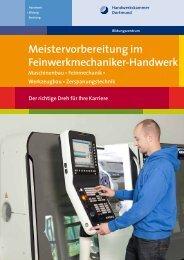K Meistervorbereitung im Feinwerkmechaniker-Handwerk