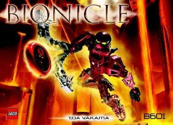 Lego Bionicle Co-Pack 65545 - Bionicle Co-Pack 65545 Bi, 8601 Na - 2