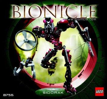 Lego Bionicle Gold Toa Co-pack 65813 - Bionicle Gold Toa Co-Pack 65813 Bi, 8756 - 2