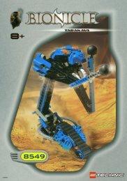 Lego Tarakava 8549 - Tarakava 8549 Bi 8549 2/2 - 2