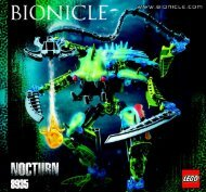 Lego Bionicle Co-pack 66235 - Bionicle Co-Pack 66235 Building Instr. 3005 / 8935 - 3