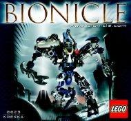 Lego Krekka 8623 - Krekka 8623 Bi, 8623 - 1