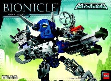 Lego Toa Gali 8688 - Toa Gali 8688 Building Instruc 3007, 8688 - 1