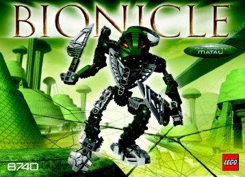 Lego Bionicle co-pack w/sword 65808 - Bionicle Co-Pack W/sword 65808 Bi, 8740 In - 3