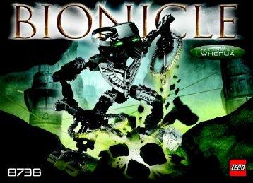 Lego Bionicle co-pack w/sword 65808 - Bionicle Co-Pack W/sword 65808 Bi, 8738 In - 2