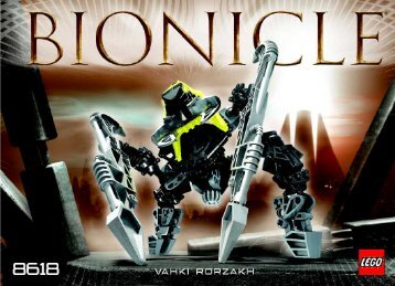 Lego Bionicle Vahki/Matortan Club Co-P 65514 - Bionicle Vahki/matortan Club Co-P 65514 Bi, 8618 - 5