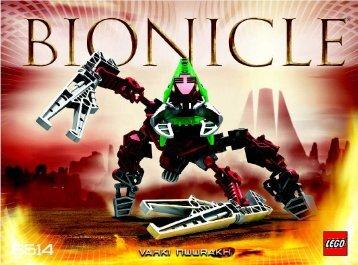 Lego Bionicle Vahki/Matortan Club Co-P 65514 - Bionicle Vahki/matortan Club Co-P 65514 Bi, 8614 - 3