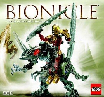 Lego Bionicle Toa Lihkan & Sidorak Co- 65829 - Bionicle Toa Lihkan & Sidorak Co- 65829 Bi 8811 - 1