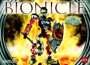 Lego Exclusive Bionicle Co-Pack 65757 - Exclusive Bionicle Co-Pack 65757 Bi 8763 Na - 2