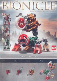 Lego Matoran/Kanoka Co-Pack B 65503 - Matoran/kanoka Co-Pack B 65503 Building Instr. 8611 - 1