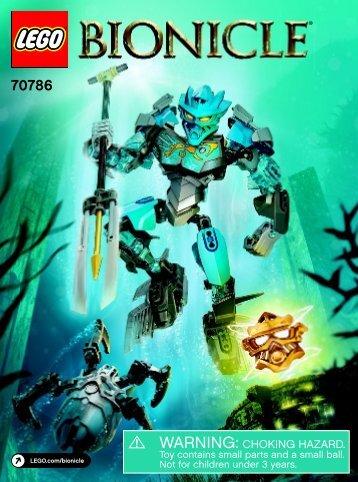Lego Gali – Master of Water 70786 - Gali – Master Of Water 70786 Bi 3022/36 70786 V39 - 2