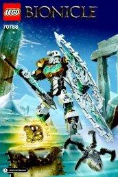 Lego Kopaka – Master of Ice 70788 - Kopaka – Master Of Ice 70788 Bi 3002/40 - 70788 V29 - 1