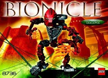 Lego Bionicle Toa Hordika Co-pacl 65783 - Bionicle Toa Hordika Co-Pacl 65783 Bi, 8736 In - 1