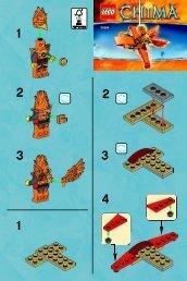 Lego Frax' Phoenix Flyer 30264 - Frax' Phoenix Flyer 30264 Bi 2001/ 2 -30264 V39 - 2
