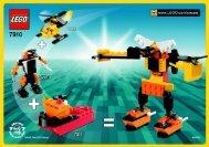 Lego ROBOT 7910 - Robot 7910 Bi, 7910 - 1