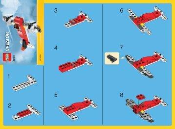 Lego Twin Prop 30180 - Twin Prop 30180 Bi 2002/ 2 - 30180 V29 - 1