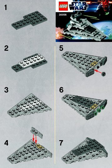 Lego Mini Star Destroyer 30056 - Mini Star Destroyer 30056 Bi 2001/ 2 - 30056 V39 - 3