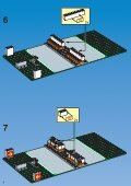 Lego SHELL TANK STATION 1256 - Shell Tank Station 1256 Build.Inst. For 1256 - 1 - Page 6
