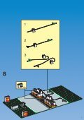 Lego SHELL TANK STATION 1256 - Shell Tank Station 1256 Build.Inst. For 1256 - 1 - Page 7