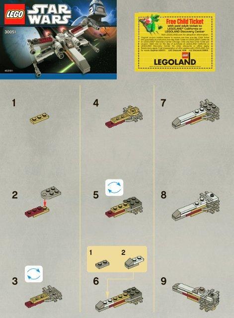 Lego X-wing 30051 - X-Wing 30051 Bi 2002/ 2 - 30051 V. 142 - 2