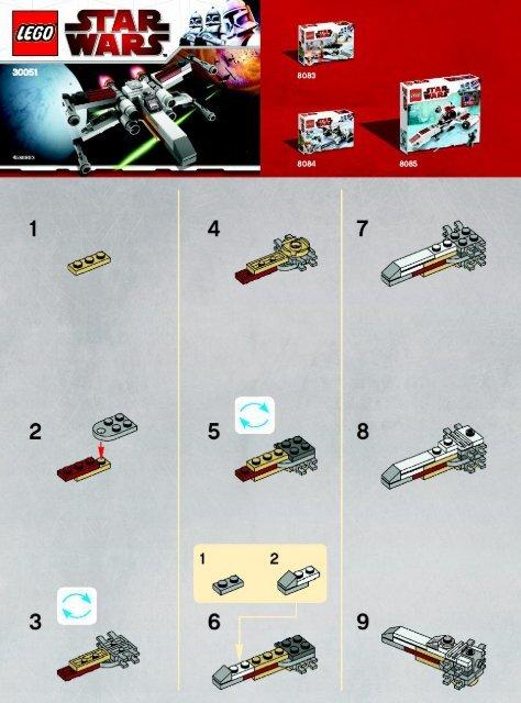 Lego X-wing 30051 - X-Wing 30051 Bi 2002/ 2 - 30051 V91 - 4
