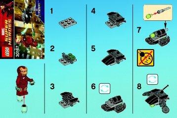 Lego Iron Man vs. Fighting Drone 30167 - Iron Man Vs. Fighting Drone 30167 Bi 2001/ 2 - 30167 V29 - 1