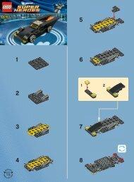 Lego Batmobile 30161 - Batmobile 30161 Bi 2002/ 2 - 30161 V 29 - 1