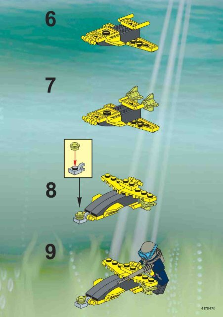 Lego ALPHA TEAM WING DIVER 1426 - Alpha Team Wing Diver 1426 Bi 1426 - 1
