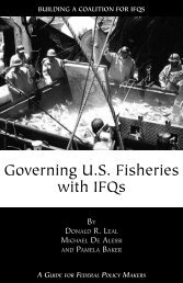 building a coalition for ifqs - PERC