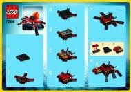 Lego Spider 7268 - Spider 7268 Bi, 7268 - 1