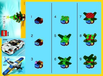 Lego Christmas Tree 30186 - Christmas Tree 30186 Bi 2002/ 2, 30186 V29 - 1
