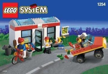 Lego SELECT SHOP 1254 - Select Shop 1254 Build.Inst. For 1254 - 1