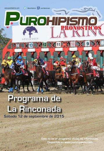 Programa de La Rinconada