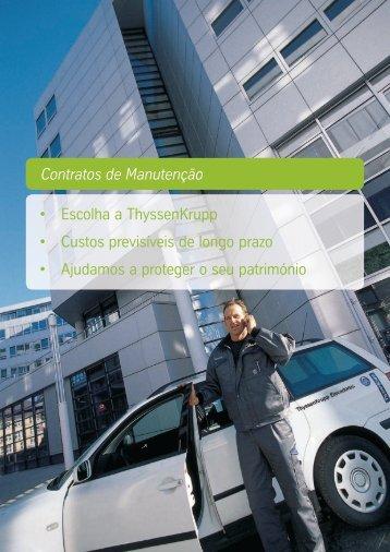 Contratos de Manutenção - ThyssenKrupp Elevadores