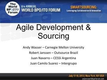 Agile Development & Sourcing