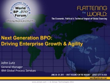 Next Generation BPO Driving Enterprise Growth & Agility