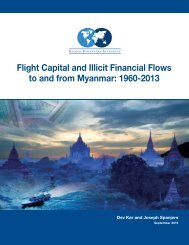Flight Capital and Illicit Financial Flows to and from Myanmar 1960-2013