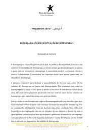 PROJETO DE LEI N.º …./XII/2.ª REFORÇA OS APOIOS EM SITUAÇÃO DE DESEMPREGO