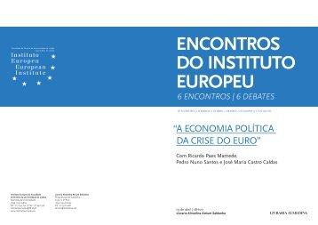 ENCONTROS DO INSTITUTO EUROPEU