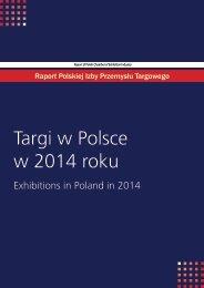 Targi w Polsce w 2014 roku
