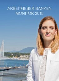 ARBEITGEBER BANKEN MONITOR 2015